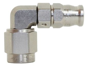 Picture of 200 Series Steel Stepped 90 degree Hose End