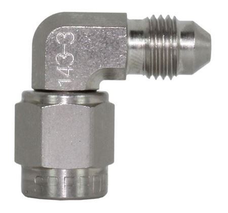 Picture of 90 degree Steel Female - Male