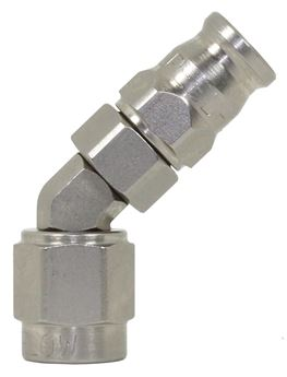 Picture of 200 Series Steel 45 degree Hose End