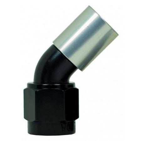 Picture of 520 Series 45 degree Aluminium Hose End