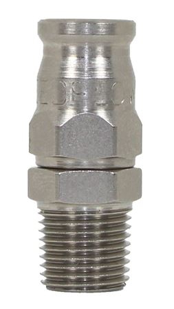 Picture of 200 Series Aluminium Male NPT Hose End