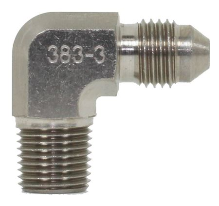 Picture of Steel Male 90 degree NPT Adapters