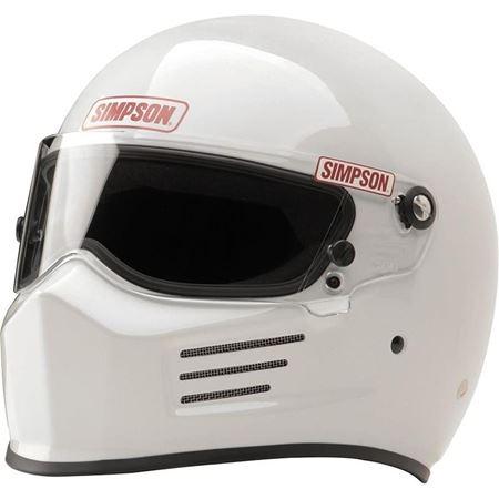 Picture of Simpson Bandit Helmet - White