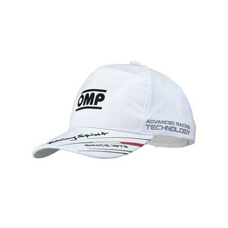 Picture of OMP Racing Spirit Cap - White